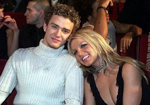 Justin Timberlake and Britney Spears. Photo: Kevin Mazur/WireImage.com