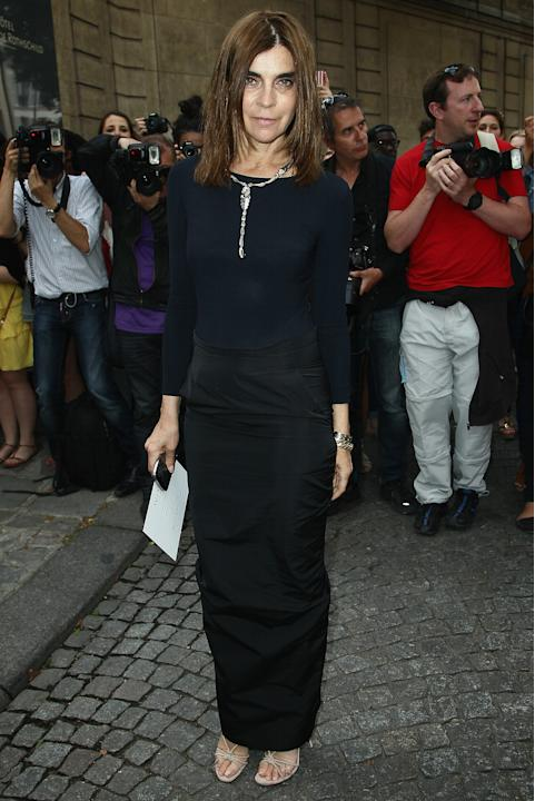 Valentino: Arrivals - Paris Fashion Week Haute Couture F/W 2012/2013