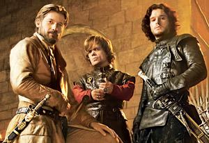 Nikolaj Coster-Waldau, Peter Dinklage and Kit Harington | Photo Credits: Jim Wright