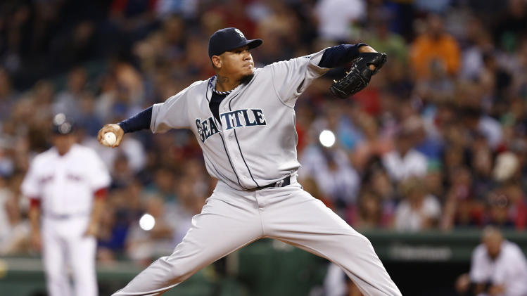 MLB: Seattle Mariners at Boston Red Sox