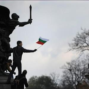 Bulgarian Workers Rally Against Government Over Wages, Jobs