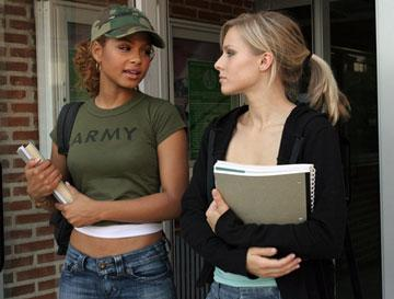 Christina Milian and Kristen Bell in Dimension Films' Pulse