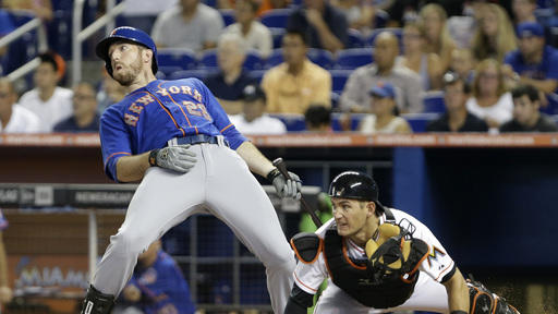 Koehler, Marlins beat Harvey, Mets 3-0