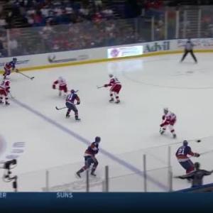 Red Wings at Islanders / Game Highlights