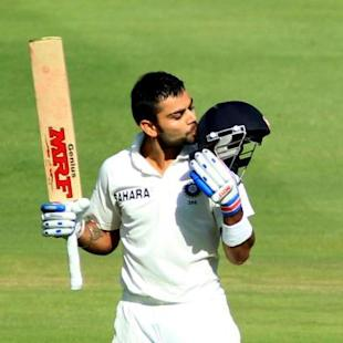 Kohli slips into Tendulkar's slot with determined hundred