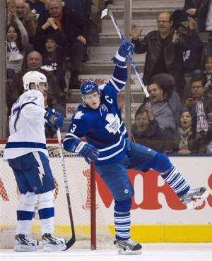 Stamkos scores No. 59, but Leafs win in OT