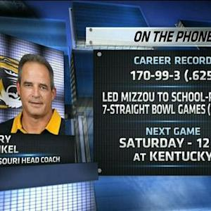 Gary Pinkel on upcoming game against Kentucky