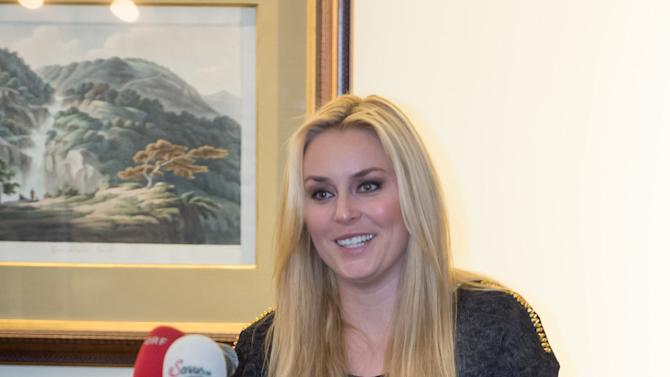 Alpine Skiing: Lindsey Vonn Press Conference