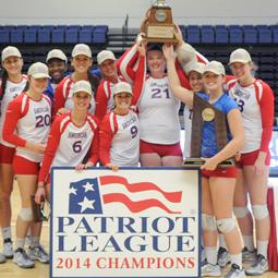 American wins 2014 Patriot League Volleyball Championship