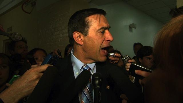 Issa snaps at reporter who predicts budget bill failure