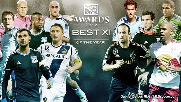 MLS reveals 2012 Best XI, headlined by Sporting KC quartet