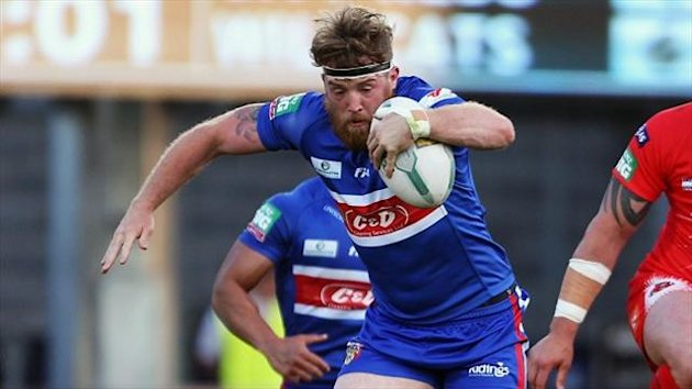 Danny Kirmond went over twice in a five-try first half