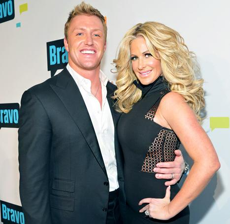 "Kim Zolciak Confirms Pregnancy, Jokes About Husband Kroy Biermann's ""Athlete Sperm"""