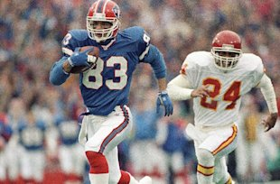 Andre Reed will be officially inducted in the Hall of Fame in August. (AP)
