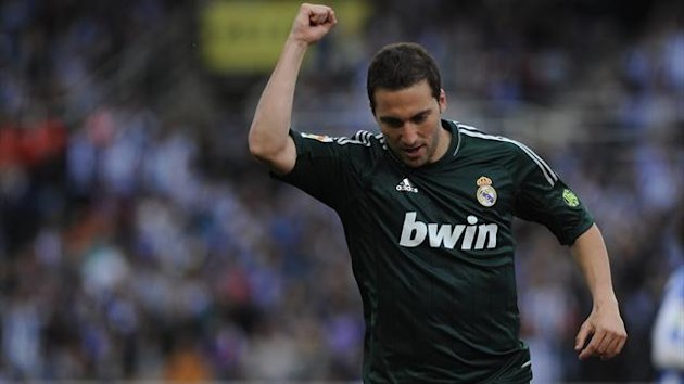 Gonzalo Higuain, Real Madrid, 2013