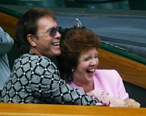 British rocker Sir Cliff Richard (L) and Cilla Black …