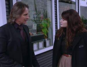 Once Upon a Time Sneak Peeks: Rumple Protects Belle from Hook, the Dwarfs Get Homesick