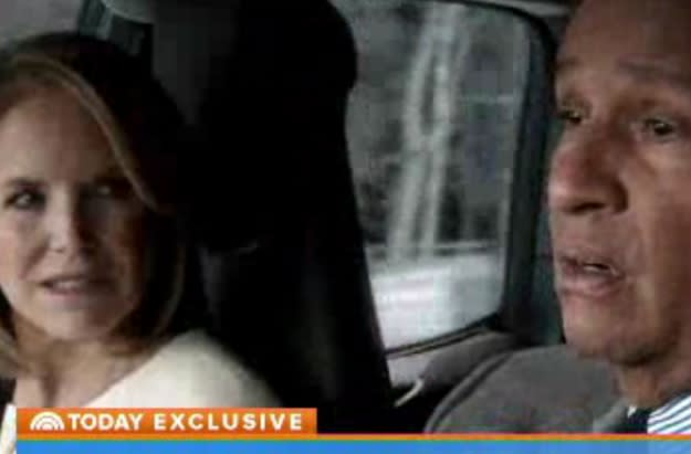 Katie Couric Returns to 'Today' Show to Preview BMW Super Bowl Ad (Video)