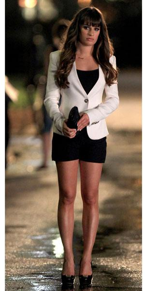 Get toned legs like Lea Michele in time for hot pant season