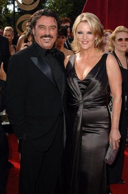 Ian McShane and wife Gwen Humble 57th Annual Emmy Awards Arrivals - 9/18/2005