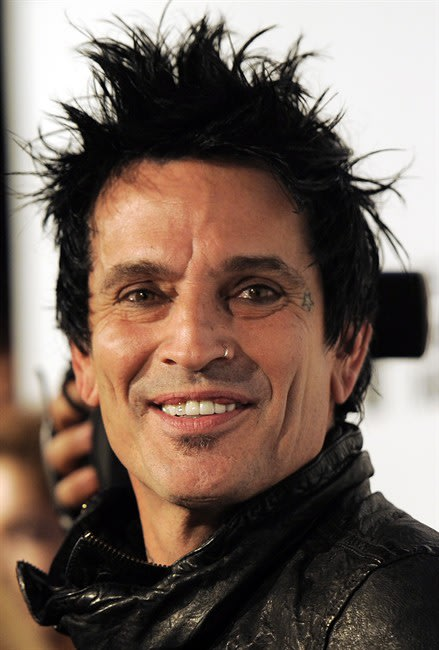 Tommy Lee of the band Motley Crue is pictured before a tribute to the band to launch the 4th Annual Sunset Strip Music Festival in West Hollywood, Calif., Thursday, Aug. 18, 2011. Lee has written a le