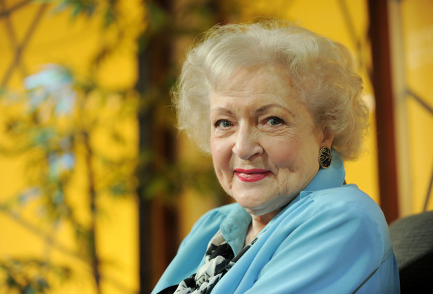 "FILE - Actress Betty White poses for a portrait following her appearance on the television talk show ""In the House,"" in Burbank, Calif., in this Nov. 24, 2009 file photo. White said Friday May 11, 201"