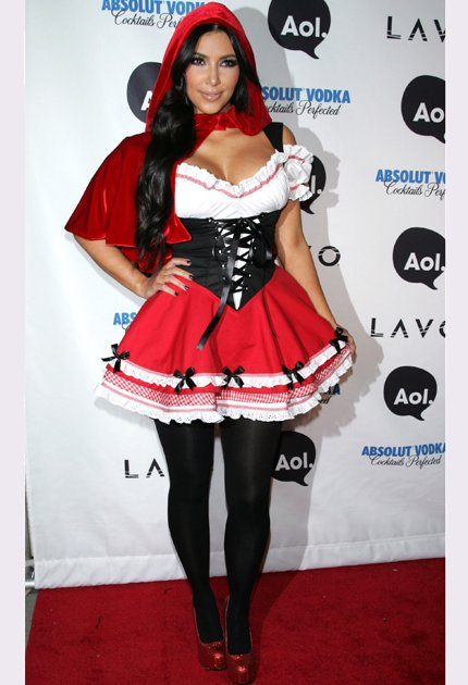 Kim Kardashian Red Riding Hood
