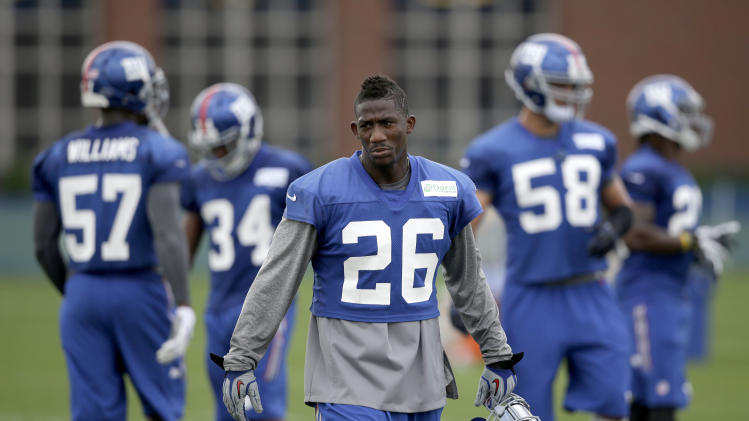 Chemistry primary goal for Giants secondary
