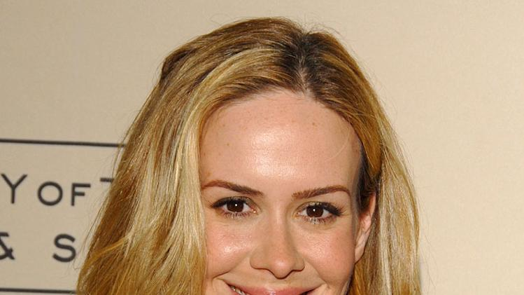 "Sarah Paulson at The Academy of Television Arts & Sciences Presents an Evening with ""Studio 60 on the Sunset Strip."""