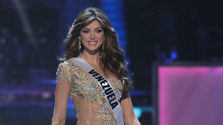 Miss Venezuela Vanessa Goncalves performs during the Miss Universe preliminary competition event in Sao Paulo, Brazil, Thursday Sept. 8, 2011.  Sao Paulo is hosting the Miss Universe 2011 pageant and will broadcast the contest on Sept. 12. (AP Photo/Andre Penner)