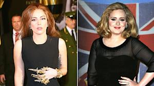 Gaga on Weight: Adele's Still Bigger Than Me