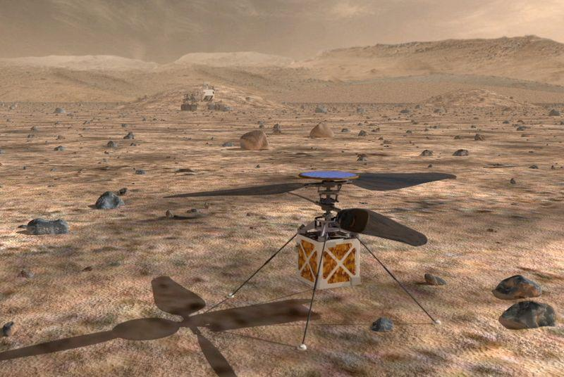 NASA is testing an autonomous Martian helicopter