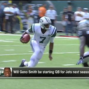 Will New York Jets quarterback Geno Smith be starting QB for Jets next season?