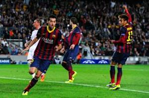Busquets: Messi is always a machine