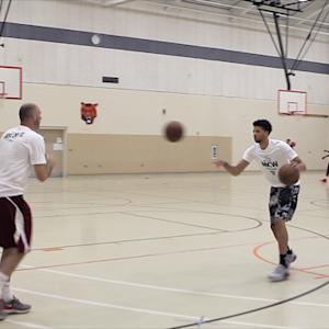 Michael Carter-Williams Demonstrates Warm-Up Dribbling Drills