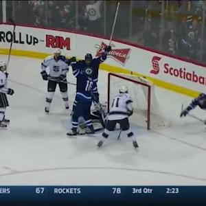 Andrew Ladd Goal on Jonathan Quick (11:25/2nd)