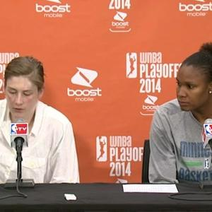 Postgame: Whalen And Brunson