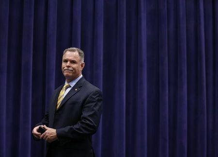 Chicago Police Superintendent Garry McCarthy arrives at an event in Chicago