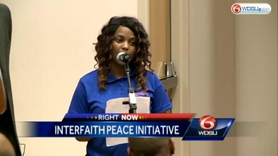 Religious, Community Leaders sign peace initiative