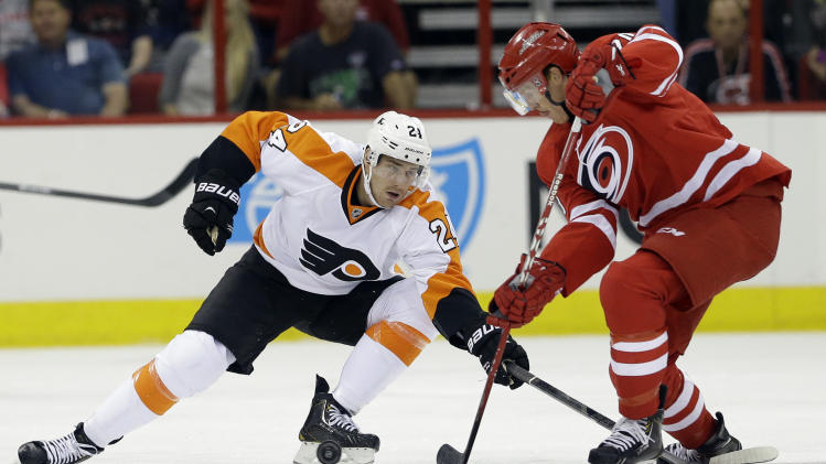 Dvorak has winner in 'Canes 2-1 win over Flyers