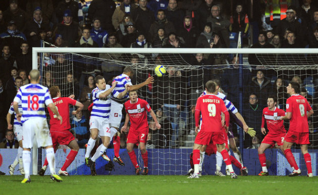 Queen's Park Rangers' Welsh Defender Danny Gabbidon Scores A Goal   AFP/Getty Images