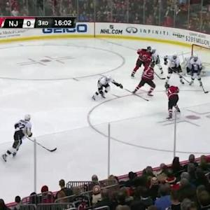 Marc-Andre Fleury Save on Scott Gomez (04:06/3rd)