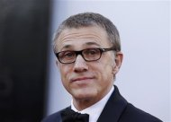 "Christoph Waltz, best supporting actor nominee for his role in ""Django Unchained"", arrives at the 85th Academy Awards in Hollywood, California February 24, 2013. REUTERS/Lucas Jackson"