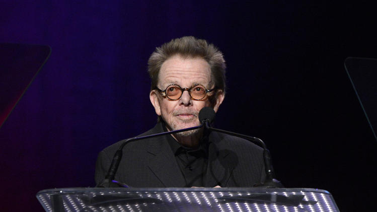 ASCAP President and Chairman of the Board Paul Williams is seen onstage at the 30th Annual ASCAP Pop Music Awards, on Wednesday, April 16, 2013, at Loews Hollywood Hotel in Hollywood, California. (Photo by Phil McCarten/Invision for ASCAP/AP Images)