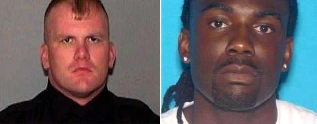 Suspect in Memphis cop killing surrenders