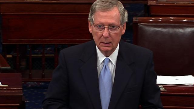 """McConnell: No """"bipartisan input"""" in Obama's economy plan"""
