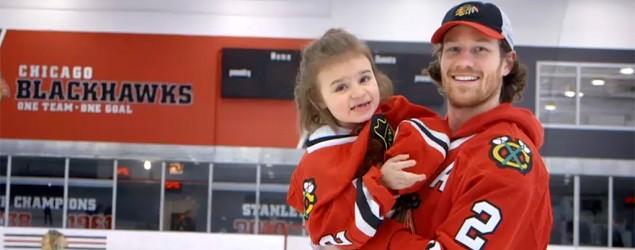 5-year-old girl's hockey dream comes true