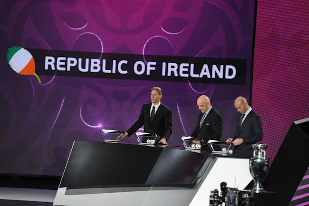 Ireland confirmed as second seeds in Euro 2016 draw