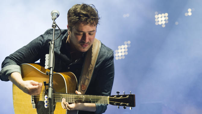 Mumford & Sons perform at Forest Hills reopening