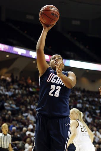 Dolson and No. 2 UConn romp past No. 16 A&M 81-50